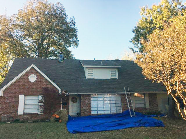 Rescue Roofing Texas Before Photo