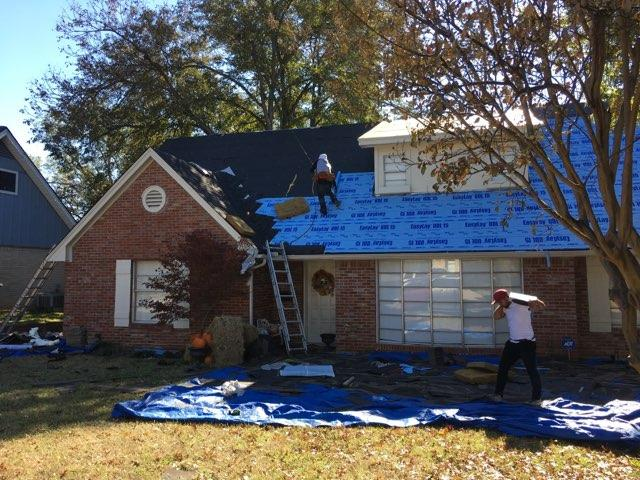 Rescue Roofing Texas - Roofing Construction Underway